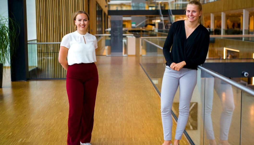 <b>SOSIALT:</b> Etter et seks uker med prosjektarbeid ble det et tett sosialt samhold mellom Bergstrøm og Frøberg og resten av gruppen.