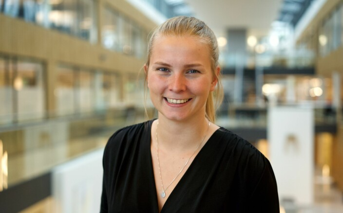 <b>PERFEKT MULIGHET:</b> Som fjerdeårig student på industriell økonomi var Sandbox midt i blinken for Frøberg.
