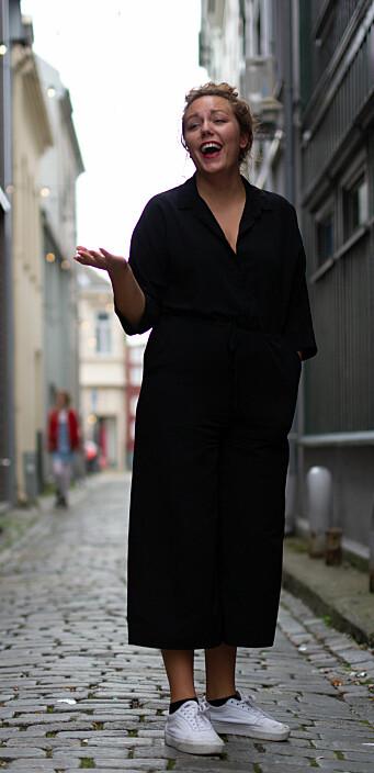 <b>KARANTENELIVET</b>: – Å bli satt i karantene er noe vi må bli vant til, sier Marlene lattermildt