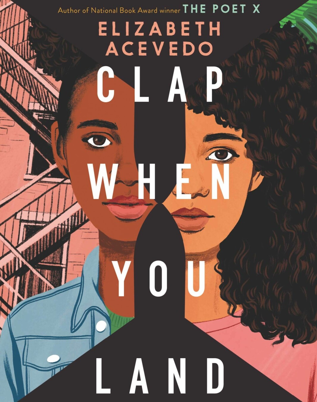 Clap When You Land, Elizabeth Acevedo. Quill Tree Books, 433 sider. Lydbok fra Harper audio, 5 timer.