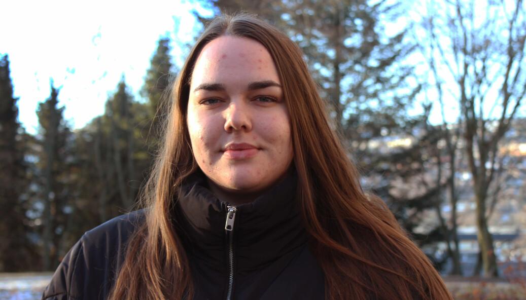 BEKYMRET: Leder i Studenttinget Åste Solheim Hagerup mener begrensningene går ut over tilbudet til studentforeningene.