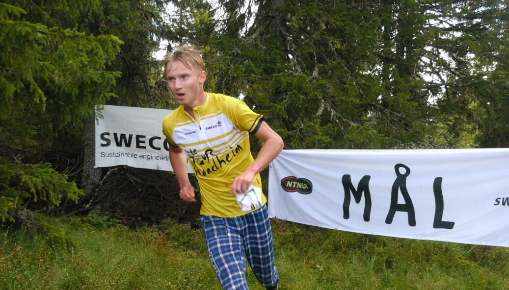 RASK: Jørgen Baklid hadde en solid helg med blant annet seier på sprinten.