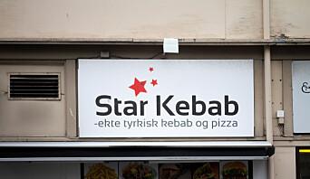 <b>KJØTTBAKERI:</b> Kebaben ved Star Kebab er ikke like overbevisende som invetaret.