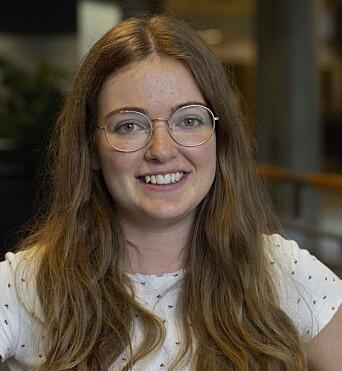 <b>VIL OFRE:</b> Kristine Schüller er villig til å forsinke studieløpet for å reise på utveksling.