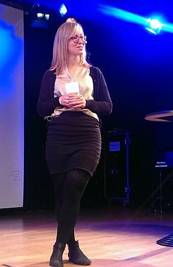 Anja Linge Valberg presiseres at det jobbes på spreng for å sikre utveksling til våren.