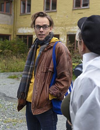 <b>NYKOMMER:</b> Tarjei Hanken ble først involvert i det byøkologiske prosjektet for noen uker siden.