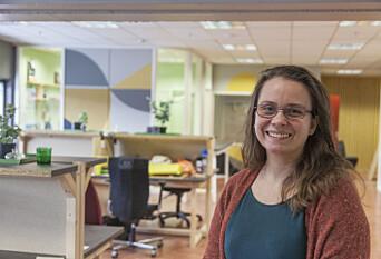 <b>SYNERGIAR:</b> Aimée Kaspersen trur kontorfellesskapa på Lager11 vil gje nye samarbeid innan kunst og kultur.