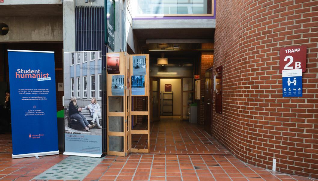 GJEMT: Skjølberg sitt kontor ligger i bygg 2 på nivå 3, rett overfor Cafe-Sito på Dragvoll.