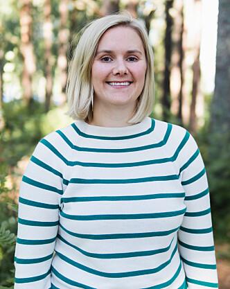 STUDENTHUMANIST: Emma Skjølberg ønsker å hjelpe studenter med det som opptar dem.