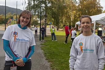 <b>ANSVARLIGE:</b> Sigrid-Anne Bjorøy og Ragnhild Vereide sørget for en meters avstand under hele løpet.