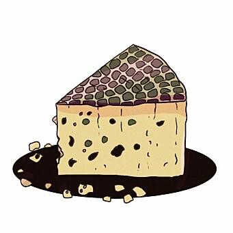 <b>PAI: </b>Tveikra bruker ofte soppen hun plukker i pai.