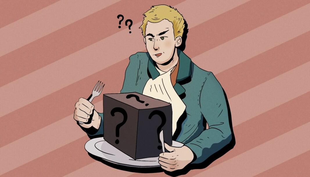 <b>Stor avstand mellom dyr og tallerken:</b> Vi har kanskje godt av å spørre oss selv om vi vet hva det egentlig er vi spiser til middag.
