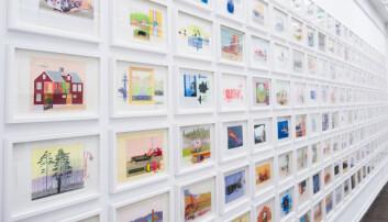 <b>Godtebutikk:</b> med 176 tegninger er det bare å plukke sine favoritter som om man var i smågodthylla.
