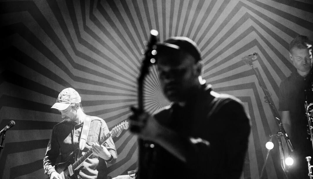 <b>Harmoni:</b> Jaga Jazzist har innarbeidet en felles harmoni som tar seg fantastisk godt ut på scenen, mener vår anmelder.