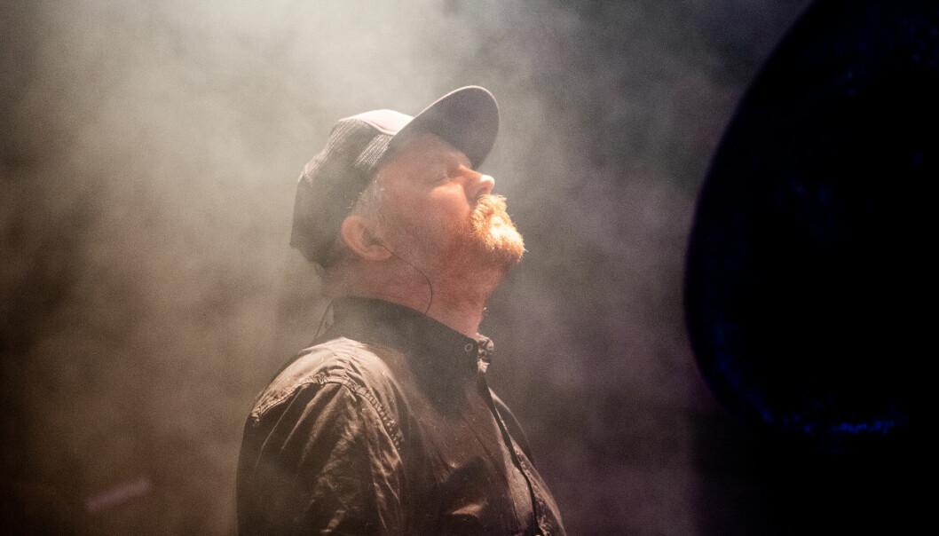 <b>Stemningsfull saks</b>: Lars Horntveth saksfonspill setter tonen på konserten.