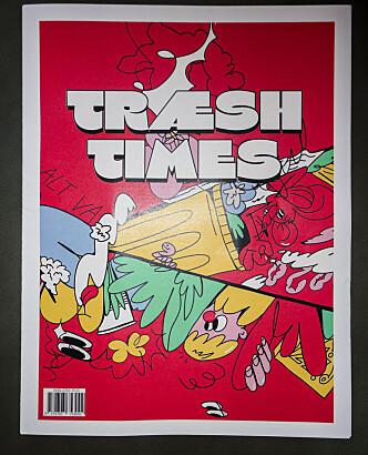 <b>MODERNE OG TRADISJONELT: </b>Den type tegneserier vi finner i Træsh times gis ut i det velkjente avisformatet, men frigjør seg ellers fra den mer tradisjonelle stripetegneserien.