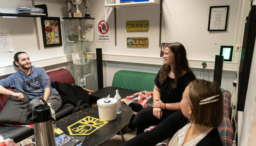 <b>CHILLER: </b>På kontoret til HC kan medlemmer komme for å sosialisere og slappe av.