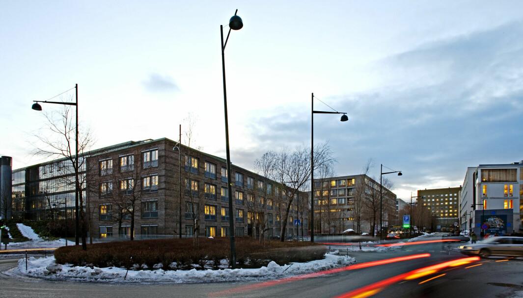 Medisinsk teknisk forskningssenter, Øya