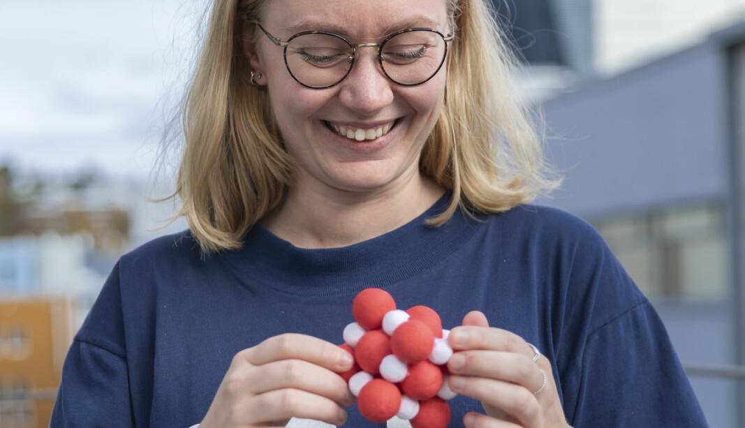 <b>BITTE LITE: </b>Vilde forsker på nanosystemer, som er umulig å observere med et vanlig øye.