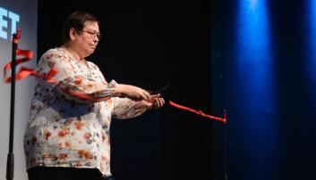 <b>Offisielt: </b>Ordfører Rita Ottervik klippet snoren, og markerte Storsalsduken for offisielt åpnet