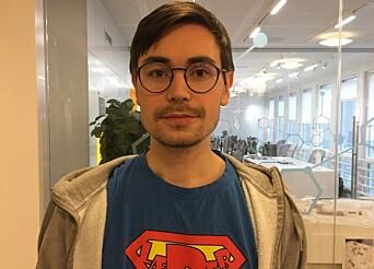 <b>FOR DÅRLIG: </b>Lektorstudent Jørgen Sunnvoll mener at NTNU var for sent ute med informasjon om eksamen.