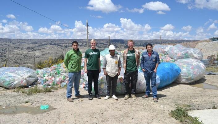 <b>FELTARBEID:</b> Ingeniører Uten Grenser jobber blant annet med å sende studenter ut i felt via programmet «Master med Mening». Her fra feltarbeid i Bolivia våren 2016.