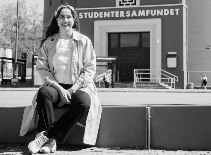TAKE AWAY-TRADISJON:   Karen Mjør lengter tilbake til tida da du kunne bestille Snaustrinda Spelemannslag hjem på fest.