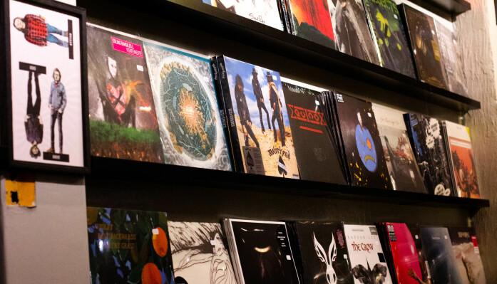KUNST: Plateomslaget er noe av det som trekker folk mot vinyl som format.
