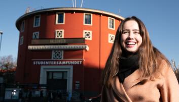 <strong>INKLUDERENDE: </strong>Samfundetleder Karen Mjør er strålende fornøyd for at Storsalen stemte for å utvide medlemsretten.