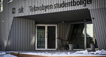 """<strong>Hjem for rundt 110 studenter</strong>: Dette er inngangen til det som omtales som """"verdens største studentkollektiv""""."""