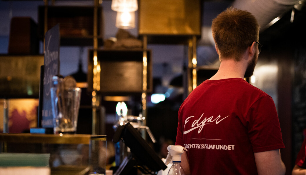 <b>ÅPNER</b><strong> IGJEN: </strong>Edgar kafé blir det første lokalet på Samfundet som åpner denne våren.