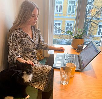 <strong>NOE Å SE FRAM TIL:</strong> Mathilde Enkerud håper årets ISFiT-festival når ut og kan være til glede for studentene som for tiden sitter hjemme alene.
