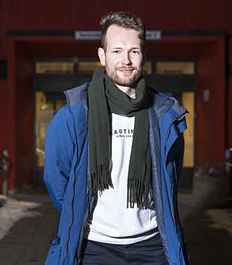 <strong>LÆRER RASKT: </strong>Helge Bergo hadde ikke drukket mye vin før han begynte å studere. Han forteller om en bratt, men morsom, læringskurve.