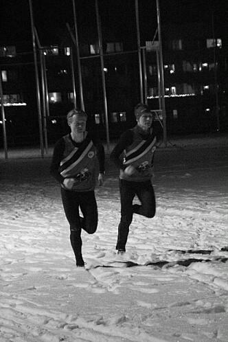 <strong>NORGESTOPPEN: </strong>Både Emil og Rasmus driver orientering også.