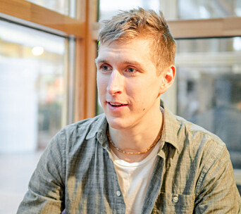 MINIMALIST: Ruben Lundstrom jobber som yogalærer og synes minimalismen er helt fantastisk.