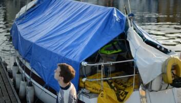 Å bo på båt kommer ikke uten utfordringer.