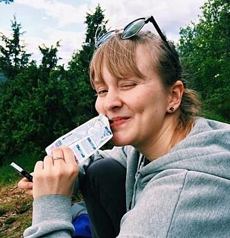 <strong>REDDE STUDENTKULTUREN:</strong> Daria mener at det er viktig at studentkulturen i Trondheim blir ivaretatt etter koronaen.