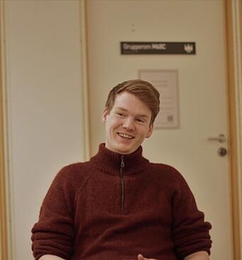 """<span class="""" font-weight-bold"""" data-lab-font_weight_desktop=""""font-weight-bold"""">SKUFFET: </span>Førstekandidat fra Sør-Trøndelag Ask Lindal fra MDG mener at tilbudet studentene får er for dårlig."""