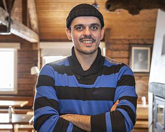 <strong>NORSKFRELST:</strong> Faraz Zand har blitt veldig glad i norsk dugnadsånd