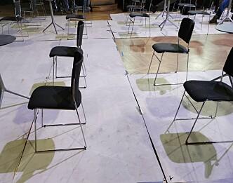<b>Ubrukte stoler: </b>De nye retningslinjene fører til at Samfundet ikke kan ta i bruk alle de nye plassene i Storsalen.