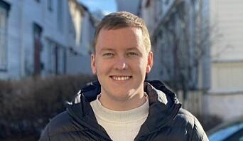 ØNSKER MANGE KANDIDATER: Andreas Knudsen Sund håper på valgkamp ved neste valg.