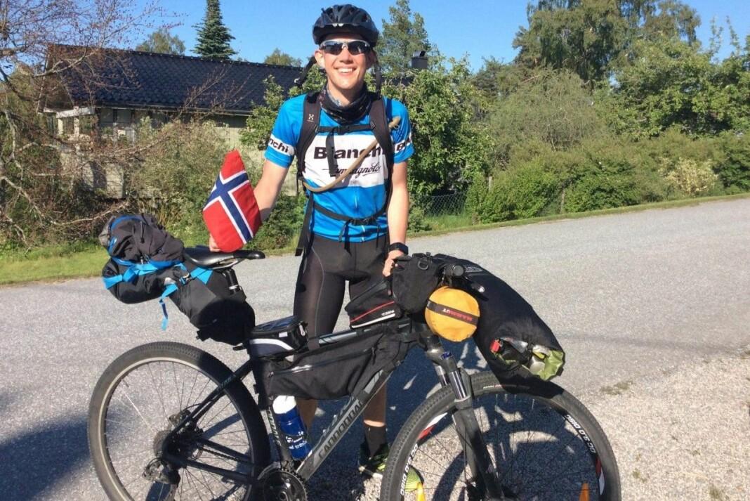 <strong>NOE FOR ALLE:</strong> Andreas Andersen Hennig håper andre kan ta inspirasjon fra turen hans