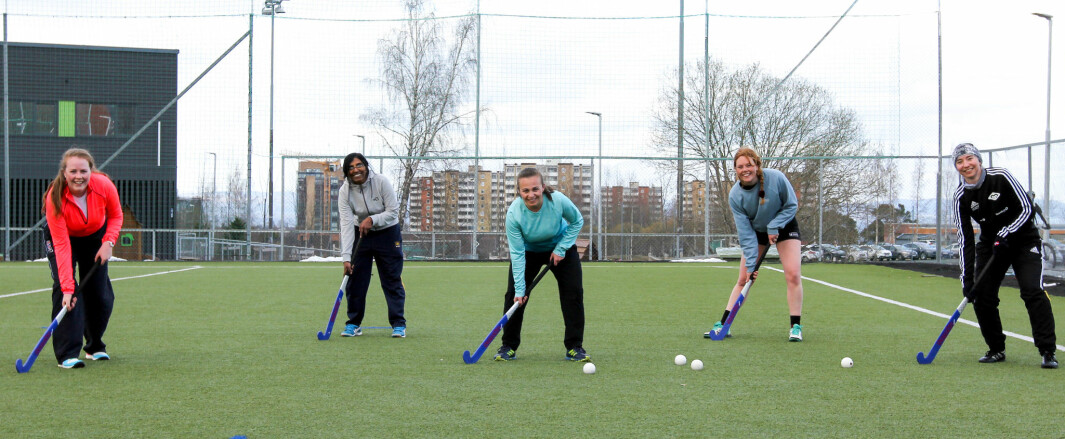 "<span class="" font-weight-bold"" data-lab-font_weight_desktop=""font-weight-bold"">ALL-STAR TEAM:</span> Trondheim's field hockey players are looking for new teammates."
