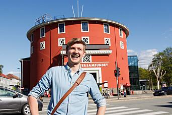 NORMALE TILSTADER: Samfundetleder Fredrik Akre mener Samfundet snart vil snart operere som normalt.