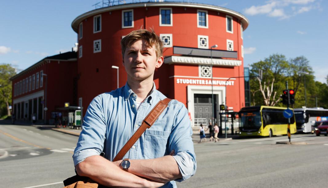 """<span class="""" font-weight-bold"""" data-lab-font_weight_desktop=""""font-weight-bold"""">SPENT:</span> Fredrik Akre gleder seg til å ta fatt på ledervervet på tross av utfordringene som venter."""