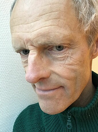 TRYGT VALG: Øyvin Øyen forteller at smitterisikoen i valglokalet er minimal.
