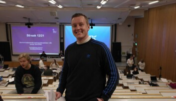 MER STUDENT-FOKUS: Andreas Knudsen Sund tror flere unge vil stemme dersom man får opp engasjementet rundt saker som opptar dem.