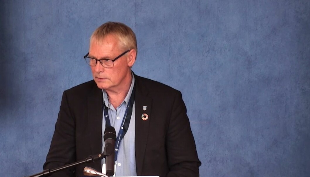 <strong>KREVENDE SITUASJON: </strong>Kommunedirektør Morten Wolden informerte formannskapet om utviklingen av koronasituasjonen i Trondheim de siste dagene under formannskapsmøtet onsdag.