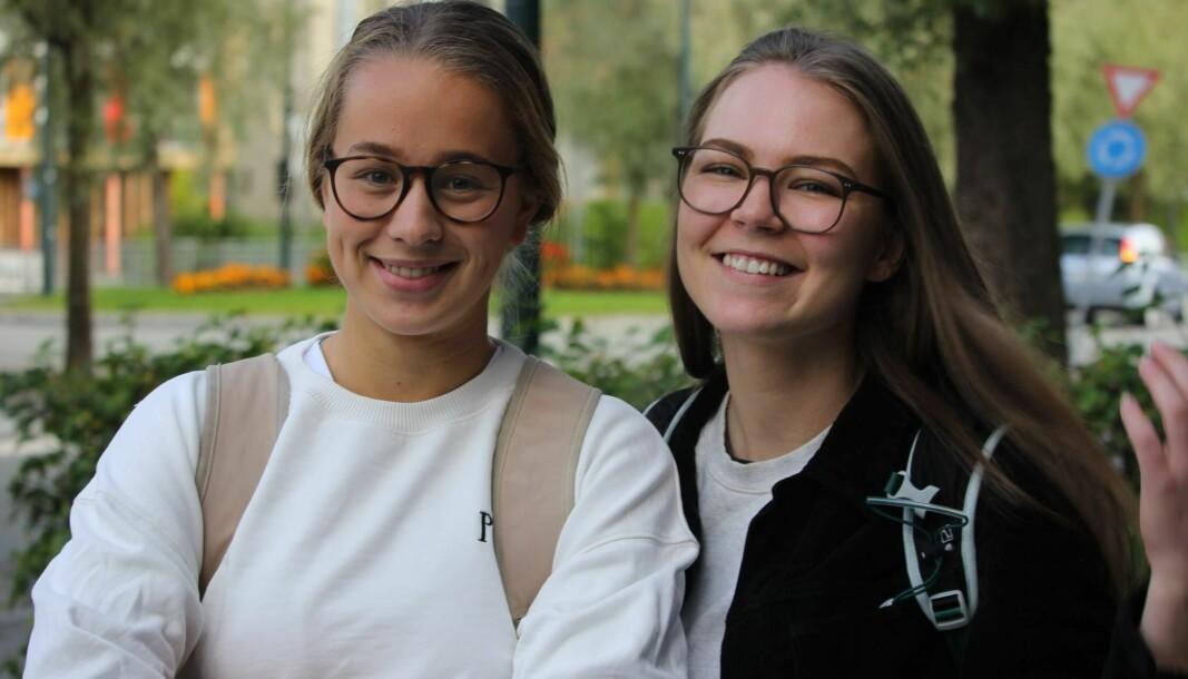 Guri Sandvoll og Julie Iversen.