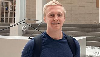Aleksander Vangen er ein av studentane som ikkje har høyrd om valet